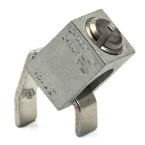 B2A-PCB-45-DEGREE-ANGLE-175-STAINLESS-STEEL-SCREW, 2AWG - 14 AWG High AMP PCB wire lug