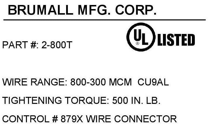 2 800t double wire lug 800 300 kcmil mcm wire range 2 barrel 2 800t double wire lug 800 300 kcmil mcm wire range 2 barrel aluminum lug aluminum or copper wire cu9al 90c temperature rating 1 mounting hole for keyboard keysfo Gallery
