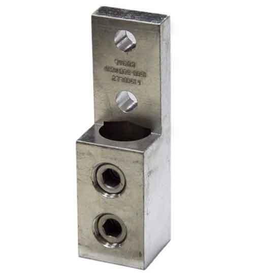 Buy nema panelboard terminal connector mechanical lugs 1500ll2 1500 kcmil single wire single barrel nema panelboard lug 1500 500 kcmil greentooth Gallery