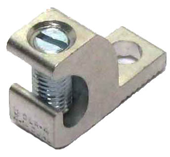 GLA-4 4 AWG Single wire lug 4 AWG - 14 AWG GROUNDING LUG