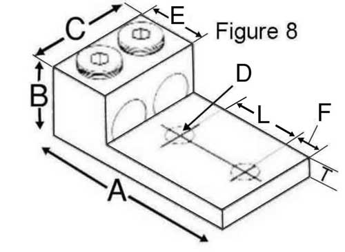 Brumall 2 1000l2 1000 kcmil double wire nema panelboard lug dimensions diagram greentooth Image collections