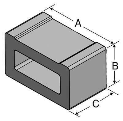 tiemount figure dimensions
