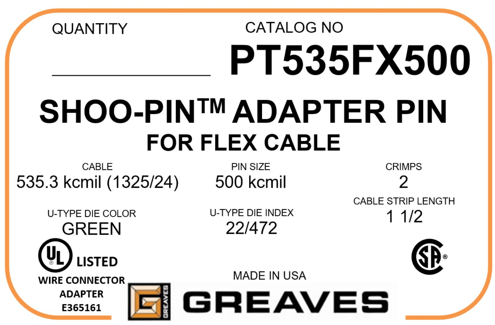 Buy greaves flex cable adapters greentooth