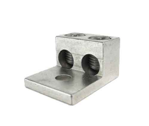 2S1/0-HEX Metric, 1/0 AWG Double wire lug 1/0AWG - 14AWG