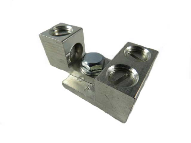 2S1/0 and S1/0 1/0 AWG dual stacking, nesting, interlocking lugs three wire application