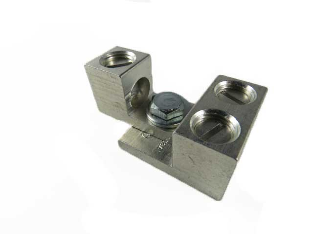 2S2/0 and S2/0 dual interlocking, stacking, nesting lugs three wire application,