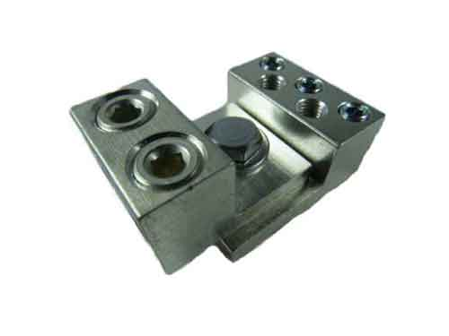 3S6-2S4-HEX and 2S1/0-HEX dual interlocking lugs 7 wire application