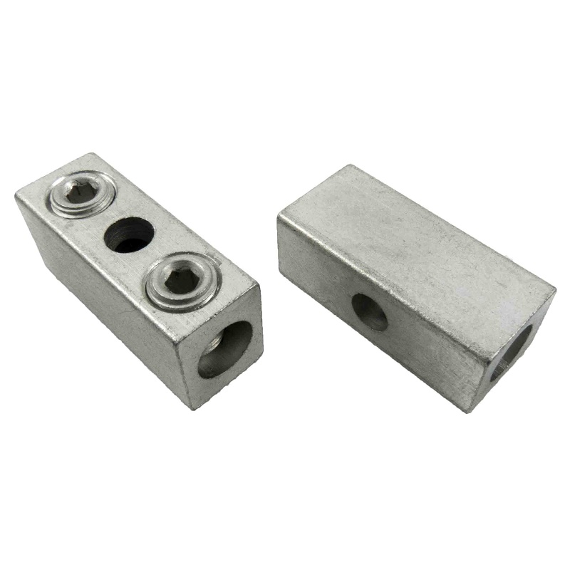 Buy Double Wire Cable Lugs, 2 wires per lug at LugsDirect.com