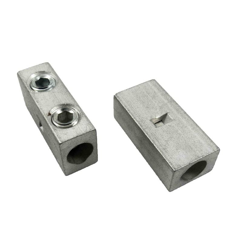 IHI - P4-HEX 2 AWG Aluminum Splicer-Reducer