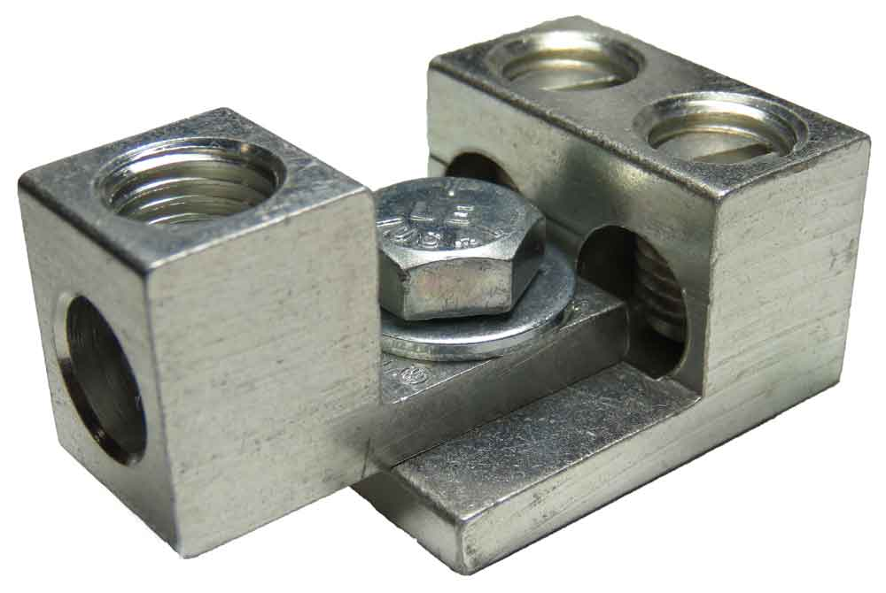 S1/0-34-41 and 2S2/0-33-44 dual interlocking, nesting, stacking lugs three wire application