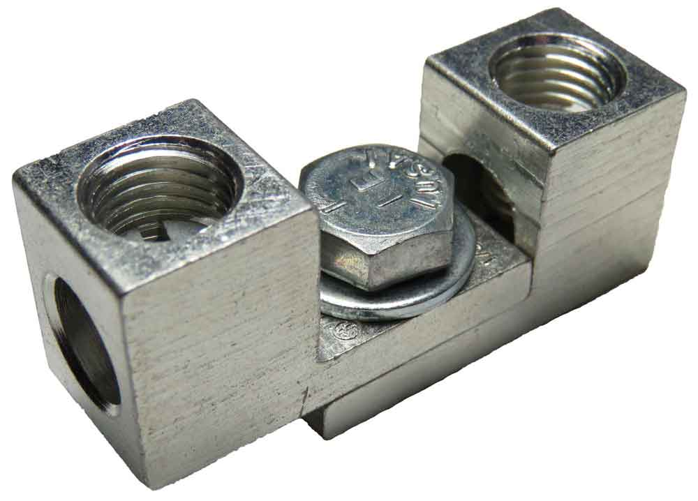 2S1/0 and S1/0 dual interlocking, nesting, stacking lugs three wire application