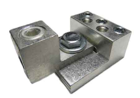 3S6-2S4-HEX and S1/0-HEX-M dual stacking, nesting, interlocking lugs 7 wire application