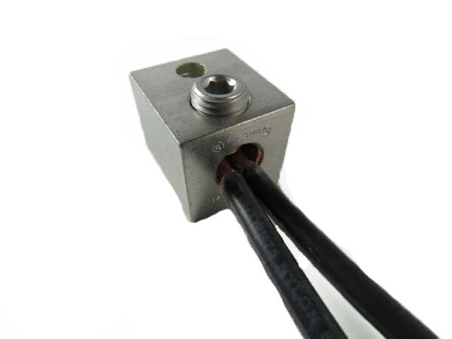 S1/0-TP2-W-HEX 1/0  awg single barrel 2 wires