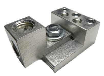 3S6-2S4-HEX and S1/0 dual stacking, nesting, and interlocking lugs 7 wire application