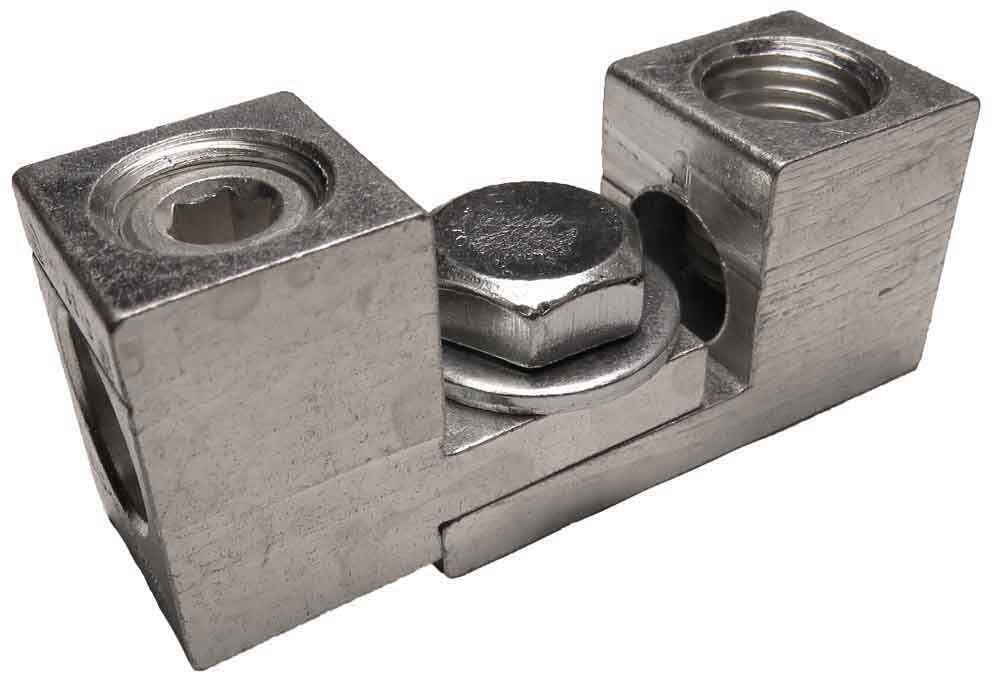 S1/0-34-41 and S2/0-TP-S-34-41-HEX dual interlocking, nesting, stacking lugs three wire application