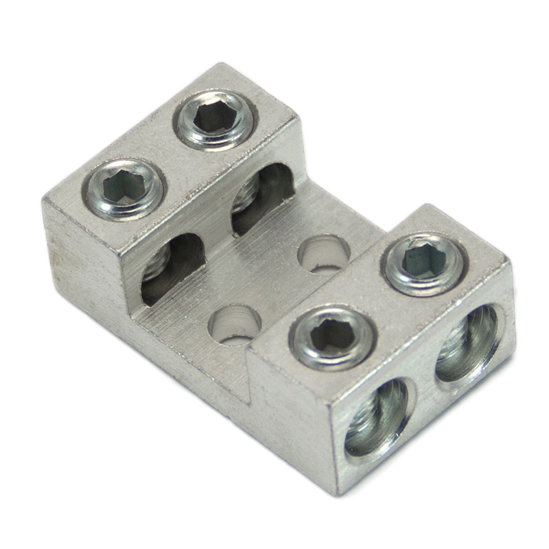 Buy multi wire lugs 4 or more wires per lug at lugsdirect 2 awg quadruple wire mechanical lug 2 14 awg greentooth Images