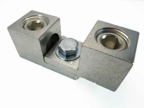 S350 350 kcmil Double wire lug  dual stacking, nesting, and interlocking lugs 2 wire application 350kcmil-6AWG