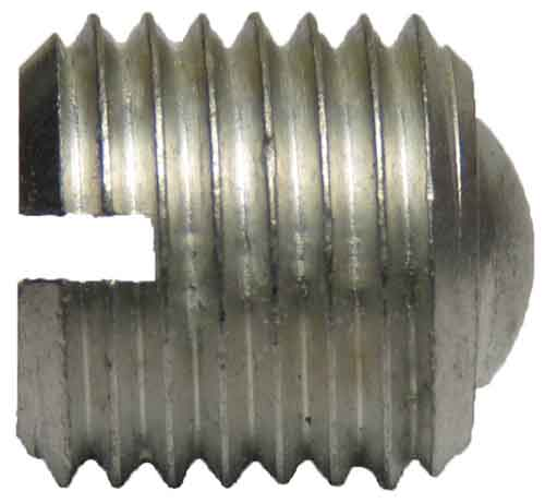 11181, 5/16-24 X 1/2 Slotted Aluminum Set Screw