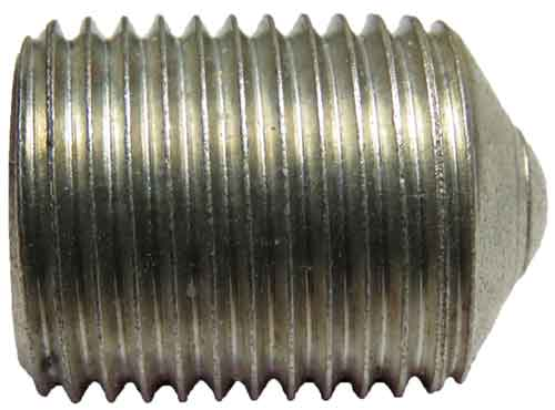 11942, 11/16-16 X 15/16 Hex Socket Aluminum Set Screw