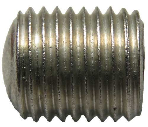 13475, 3/8-24 X 1/2 Hex Socket Aluminum Set Screw