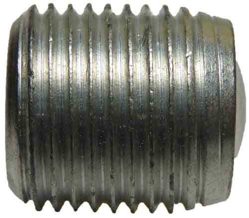 13562, 5/8-18 X .688 Slotted Aluminum Set Screw
