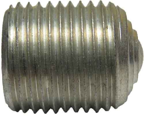 13571, 5/8-18 X .75 Hex Socket Aluminum Set Screw