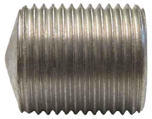 14141-M, 7/8-14 X 1.062 Metric Hex Socket Aluminum Set Screw