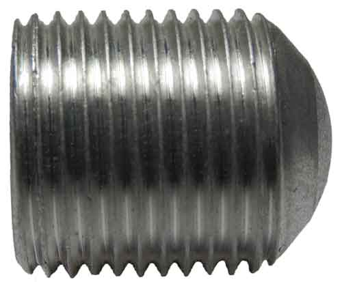 14241, 3/4-16 X .875 Slotted Aluminum Set Screw