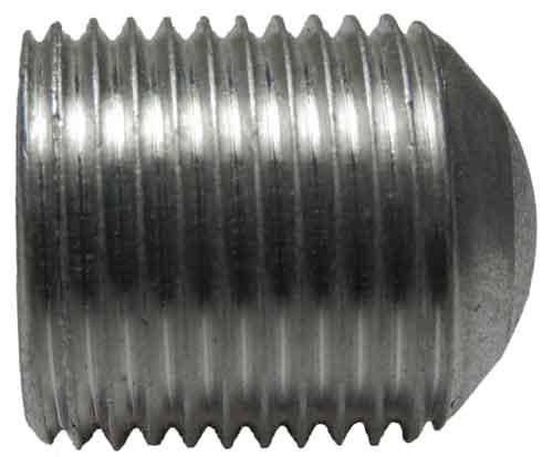 IHI 14241 Screw – hex socket 3/4-16 x  875 oval point, tin