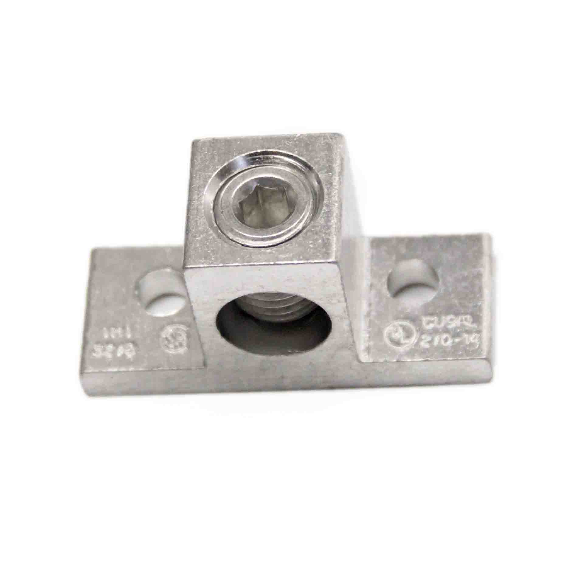 T2/0 2/0 AWG Single wire lug, 2/0AWG - 14AWG