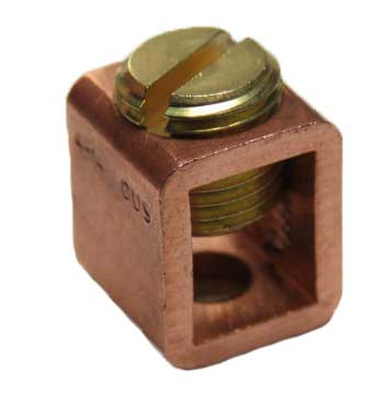 B4B-B 4 AWG Copper Collar Box lug
