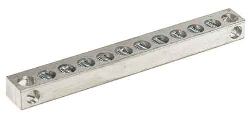 4-14 AWG, neautral ground electrical bars