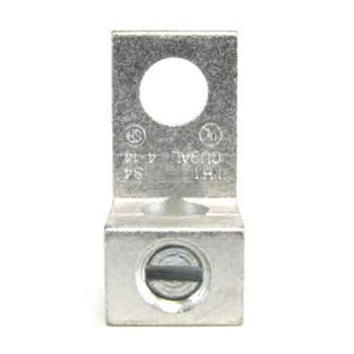 S4 4 AWG Single wire lug  4 AWG - 14 AWG